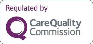Regulated by CQC logo Purple